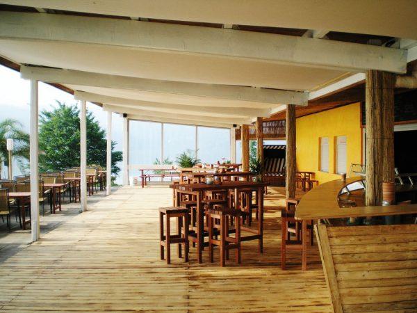 Referenz Gastronomie Strandbar Sorpesee Terasse